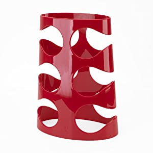 Umbra Grapevine Acrylic Wine Rack, Red