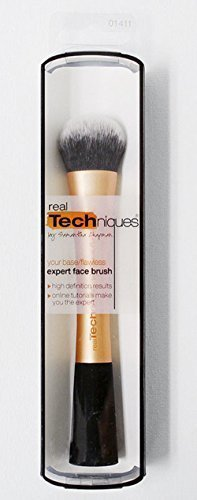 REAL TECHNIQUES Makeup Brush -Expert Face Brush 1411- cosmetics Face Expert Brush NIB (Real Techniques Face Brush compare prices)