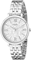Fossil Women's ES3803 Jacqueline Analog Display Analog Quartz Silver Watch