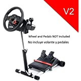 V2 Racing Steering Wheelstand for Logitech Driving Force Pro, GT, EX and DriveFX Wheels; Wheel Stand Pro. Wheel/Pedals Not included.