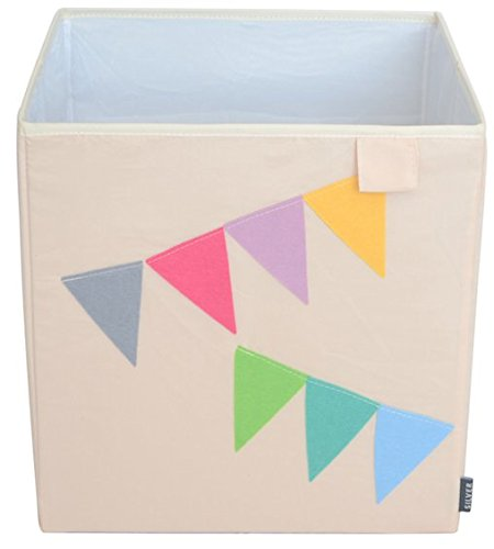 Best Prices! Toy Storage Box Bin Organizer Collapsible, Banners- 100% Money Back Guarantee