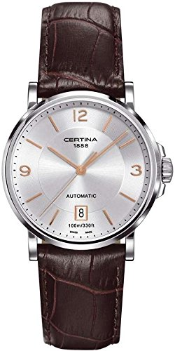 Certina Men's Watch XL Analogue Automatic Leather C017,407,16,037,01