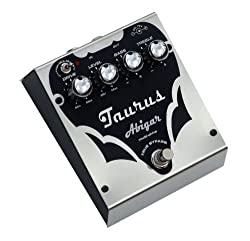 Taurus Amplification Abigar SL Bass Distortion Effects Pedal, Silver Line from Taurus Amplifcation