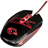 Qisan(TM) Cherokee 3 DPI 5 Buttons USB Wired Gaming Mouse