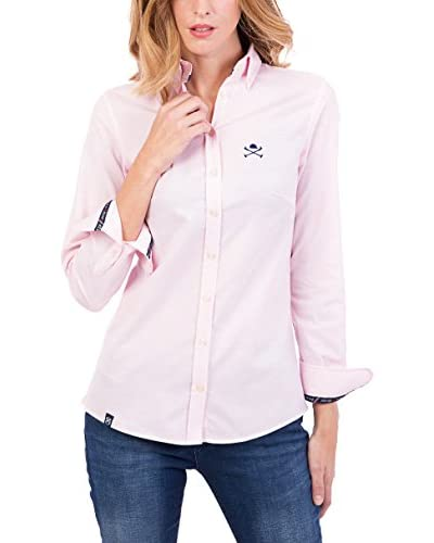 POLO CLUB Bluse klassisch Miss Oxford