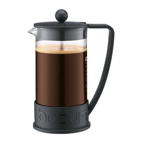 Bodum 10938-01US French Press Coffee Maker, Black