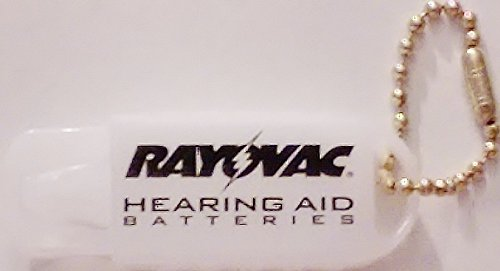 Rayovac Hearing Aid Battery Caddy with Keychain