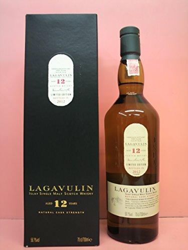 ラガヴーリン 12年 リミテッドエディション2012 カスクストレングス 56.1度 700ml [並行輸入品]