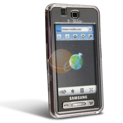 Clip On Crystal Case for Samsung SGH-T919 Behold, Clear