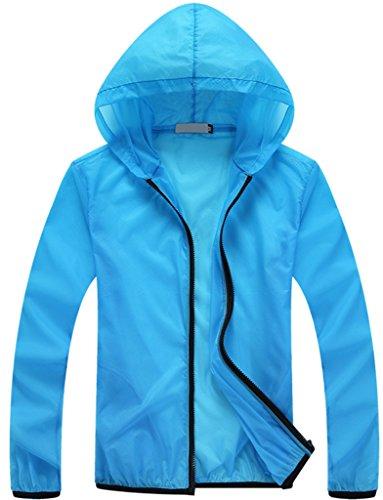 ZSHOW-Femme-Veste-de-Sport--Capuche-Lger--Schage-Rapide-Protection-UV-Coupe-Vent-Fermeture-clair