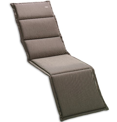 Sieger 5644 4724 Recliner Cushion 100 % Structured Polyester 168 x 50 x 4 cm Mocha
