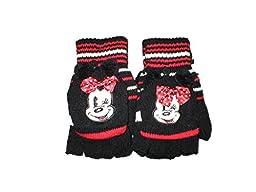 Minnie Mouse Toddler Girls Glove Mittens Set