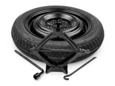 Factory Kia Optima HYBRID Spare Tire Kit by Kia (2012 Kia Rio Spare Tire compare prices)