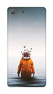 SWAG my CASE PRINTED BACK COVER FOR SONY XPERIA M5 Multicolor