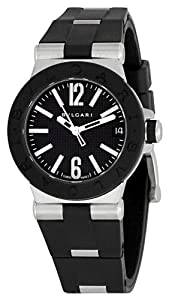 Bvlgari Women's BVLDG29BSVD Diagono Black Dial Watch from Bvlgari