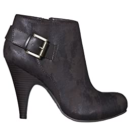 Women&#039;s Mossimo Kate Ankle Boots - Brown : Target from target.com