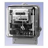大崎工業 A53A 普通電力量計 単相2線式 100V 30A 60Hz 西日本 (検定付)