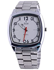 Saint Analogue White Dial Men's Watch (A025)