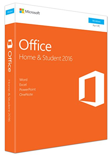 MS Office Home and Student 2016 Win P2 EuroZone Medialess English (EN)