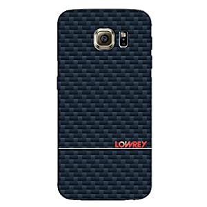 CARBON LOWREY BACK COVER FOR SAMSUNG GALAXY S6
