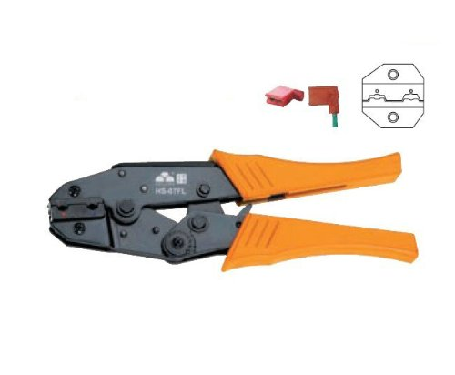 0.5-2.5mm FlagType Female Receptacles Insulated Terminals Ratchet Crimping Plier