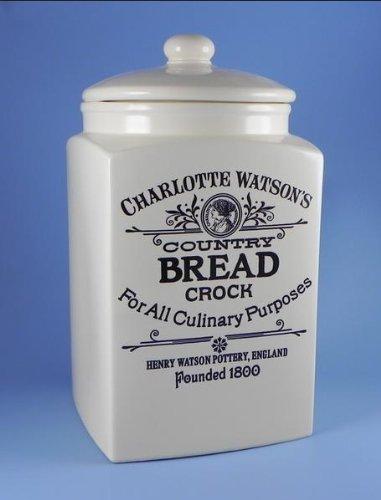 Charlotte Watson Bread Crock
