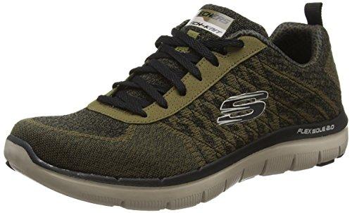 skechers-skees-flex-advantage-20-golden-po-baskets-sportives-homme-vert-olive-green-43-eu-9-uk