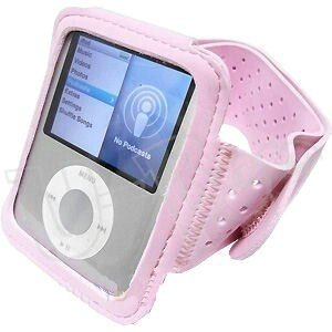 U-Bop SportsGRIP Armband Holder for iPod Nano 3G , Pink