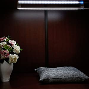 ICOCO Touch LED Light, Touch Control Dimmable USB Powered 21 LED Light Bar Ultra Slim for Wardrobe, Closet, Attics, Hallway, Washroom (2 PCS)