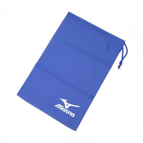 MIZUNO(ミズノ) シューズバッグ(M) 8ZA43825 ブルー×ホワイト M