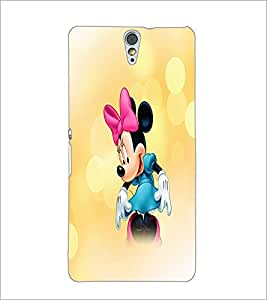 PrintDhaba Minnie Mouse D-4447 Back Case Cover for SONY XPERIA C5 ULTRA (Multi-Coloured)