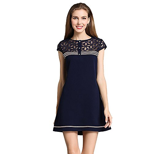 FORU DRESS -  Vestito  - Donna blu XX-Large