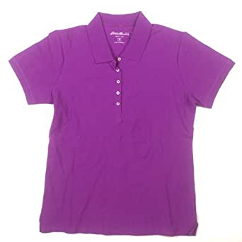 Eddie Bauer Womens Polo Small Purple At Amazon Women S