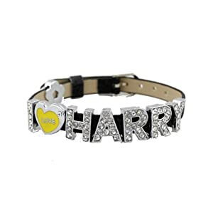 One Direction Crystal Slider Letter Wristband Bracelet - I Love Harry from Fun Daisy Jewelry