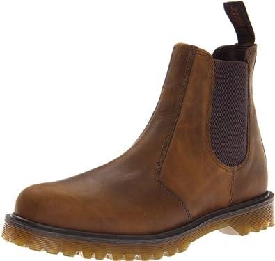 Dr. Martens Men's 2976 Boot,Brown Shorthorn,6 UK/7 M US