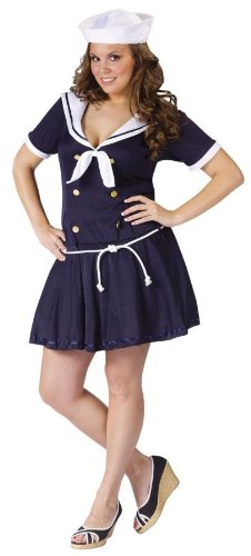 Costumes For All Occasions FW120765 Anchors Away Plus 16W-24W