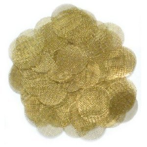 100 Brass Gold Tobacco Pipe Screens