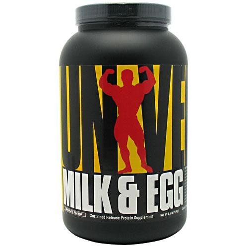 Universal Milk and Egg Enriched Protein Blend for Muscle Growth, Chocolate, 48-Ounce Tub