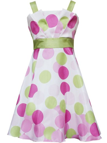 Rare Editions Girls 7-16 Gradient Dot Dress
