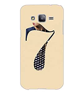 SAMSUNG GALAXY J2 SEVEN Back Cover by PRINTSWAG