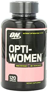 Optimum Nutrition Opti-Women, Women's Multivitamin, 120 Capsules