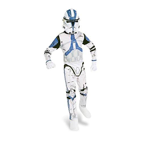 Star Wars - The Clone Wars - Costume del Clone Trooper - Costume per bambini - S