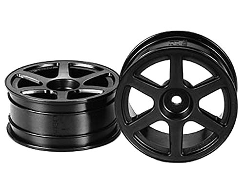 Tamiya 53453 6-Spoke Wheel Medium Narrow (2) - 1