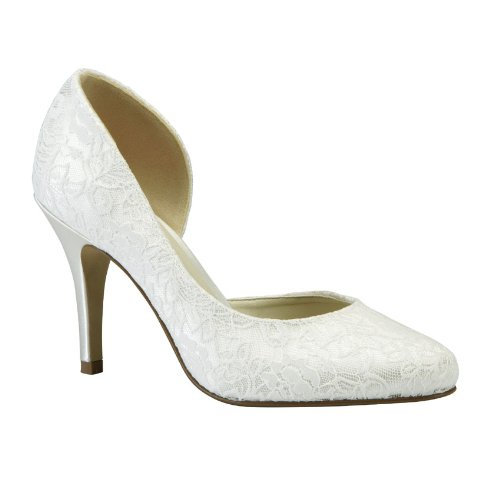 Cathy Wedding Shoes Ivory Size 8