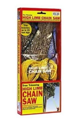 High Limb CS-24 Rope-and-Chain Saw with 24-inch Chain