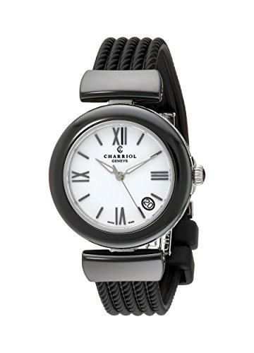 charriol-ael-womens-34mm-black-rubber-stainless-steel-case-watch-ae33cb173004