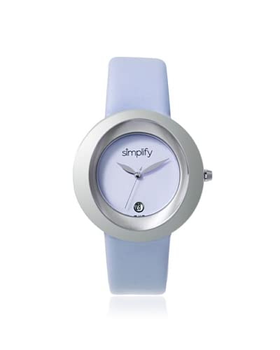 Simplify Women's SIM1503 The 1500 Periwinkle Leather Watch