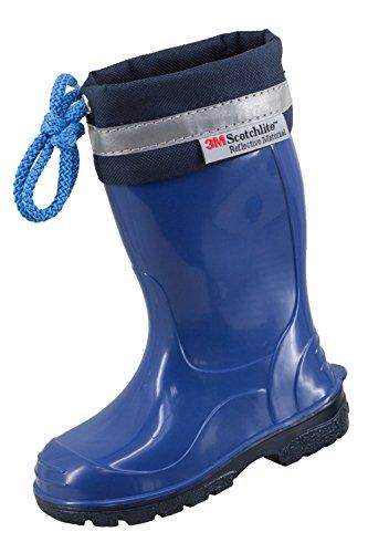 LEMIGO, Stivali di gomma unisex bambino, Blu (blu), 26