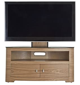 Cheap  AVF Oak Blenheim TV Stand With Mount for up to 55 inch