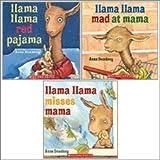 img - for Llama Llama Mad at Mama / Llama Llama Misses Mama / Llama Llama Red Pajama by Anna Dewdney (2010) Paperback book / textbook / text book